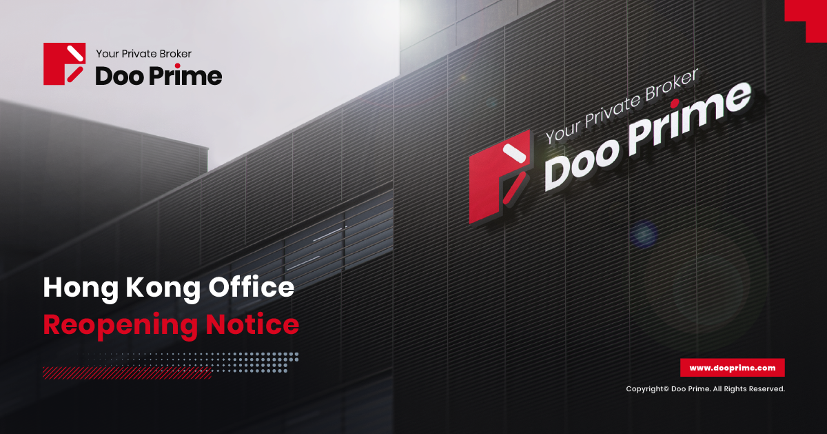 Doo Prime's Hong Kong Office Reopening Notice